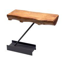 کنسول مدرن طرح چوب و تیرآهن سایز کوچک کد ME00001028
